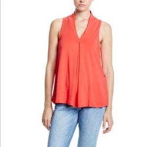Tart Blouse Size Medium Sleeveless Orange Aryn